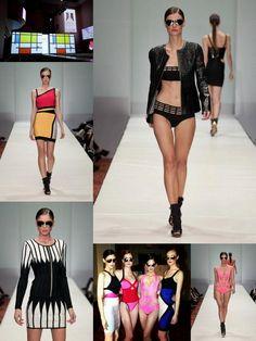 Herve Leger by Max Azria Fashion Houston runway show