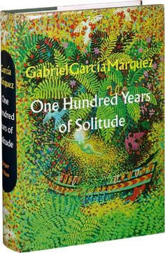 One Hundred Years of Solitude by:Gabriel Garcia Marquez