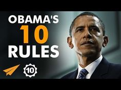 Barack Obama's Top 10 Rules For Success - YouTube