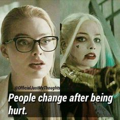 Harley Quinn, the queen of crime. Mood Quotes, True Quotes, Heart Quotes, Citations Film, Dc Memes, Joker Quotes, Joker And Harley Quinn, Badass Quotes, It Hurts