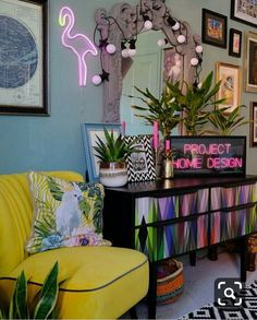 7 bohemian interior design ideas that you are going to love! These design ideas are going to elevate your decor and are the perfect inspiration for your Fall ho Apartment Inspiration, Interior Inspiration, Bohemian Interior Design, Home Interior Design, Retro Home Decor, Cheap Home Decor, 50s Decor, Style Salon, Living Room Decor