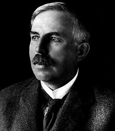 Ernest Rutherford was British physicist that worked with nuclear physics. He's known for his theory that explains the structure of the atom.