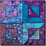 Night and Day Two free quilt block pattern