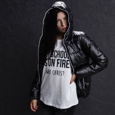 LP225-99X Quilted Jacket, Hoods, Leather, Jackets, Fashion, Down Jackets, Moda, Padded Jacket, Cowls