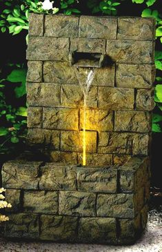 39 Charming Large Outdoor Wall Fountains Design Ideas | Fountain Design, Wall  Fountains And Outdoor Walls