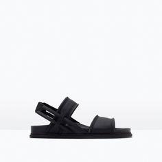ZARA - SALE - 橡膠質地涼鞋