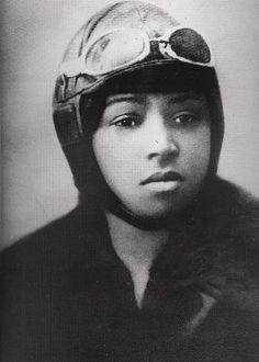 Bessie Coleman, First African American Pilot - GPN-2004-00027.jpg - Atlanta, Texas