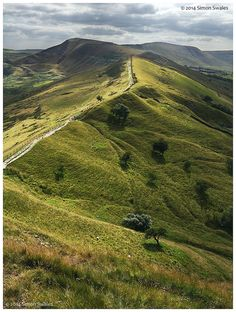Mam Tor, Peak District, England I would give anything to be able to walk there again.