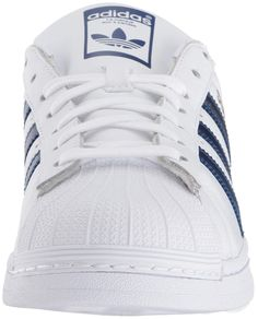 3b1c2c40f75 adidas Men s Superstar Metallic Casual Sneakers from Finish Line - White 8