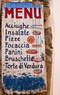 seafood + italian classics.