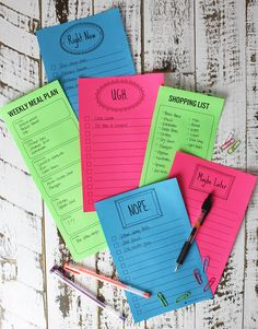 Organizing To Do List Printables From Christina Williams