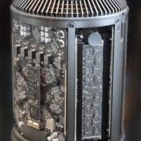 The Mac Pro features a new design that provides better ventilation for the CPU.  Photo: Wikimedia user Hi-tech@Mail.Ru.