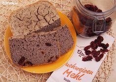 Pan de trigo sarraceno con arándanos