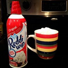 A delicious holiday treat that you can continue all year round (in moderation!) - Cool Whip or Reddi Wip on your morning coffee. Peace, Love and Ice Cream!: 10 Things You Probably Didn't Know About Me! {{Holiday Edition}}