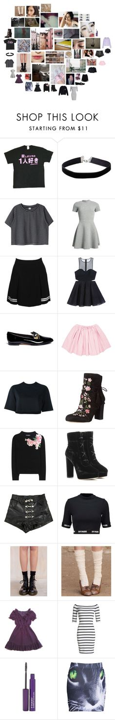 """briar"" by astral-leech ❤ liked on Polyvore featuring A.H.O Laborator, Miss Selfridge, Superdry, Dolce&Gabbana, Bebe, Kate Spade, NIKE, Sam Edelman, Jimmy Choo and Ivy Park"