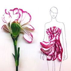 This Fashion Illustrator Has A Super Creative New Inspiration Behind Her Designs