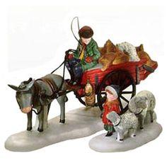 "Dickens' Village - ""Bringing Fleeces To The Mill"" - Department 56 Christmas Village, Dept 56 Dickens Village, Christmas In The City, Christmas Home, Xmas, Villas, Hawthorne Village, Alpine Village, Thomas Kinkade"