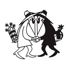 Spook Decal Spy vs Spy Made in USA Multiple Color Options & Sizes Avail Dark Art Drawings, Tattoo Drawings, Vinyl Art, Vinyl Decals, Tomie Ohtake, Graffiti Lettering Fonts, Desenho Tattoo, Cartoon Sketches, Flash Art