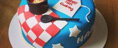 American Style Motiv Fondant Cake