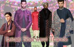 Latest Sherwani Designs for Wedding | Sherwani Trends 2017