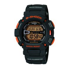 Shop the latest collection of Casio Men's G-Shock Mud Resistant Black Digital Watch from the most popular stores - all in one place. Similar products are available. Stylish Watches, Cool Watches, Watches For Men, Sport Watches, Casio G Shock Watches, Casio Watch, Casio Digital, Digital Watch, Casio G Shock Mudman