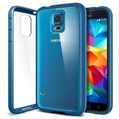 Spigen® [AIR CUSHION] [+Screen Shield] Samsung Galaxy S5