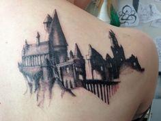 Hogwarts tattoo (first session), Iron Star in Nebraska City