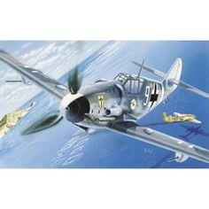 italeri maquette avion 0063 Messerschmitt BF-109 G-6 1/72
