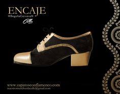 Encaje dorado www.zapatosconflamenco.com Flamenco Shoes, Tap Shoes, Dance Shoes, Diamond Shoes, Dance Wear, Barefoot, Character Shoes, Lady, How To Wear