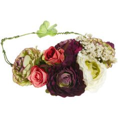 Limited Edition Rose Bouquet Hair Garland