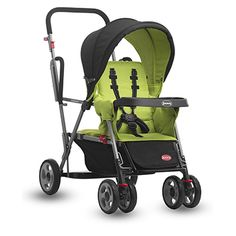 If you intend to navigate contracted spaces effortlessly then this is the ideal double stroller for you. The Joovy Caboose Stand on Tandem #Stroller weighs less than most analogous #strollers present in the market today.