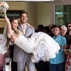 Jill Duggar's wedding! #19kidsandcounting  I always loved the Duggar's since day one when their show first started.