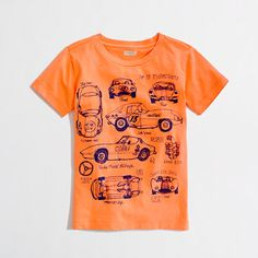 crewcuts race car storybook tee size 2