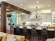 different angle same kitchen Cottage Kitchens from Dave Stimmel on HGTV