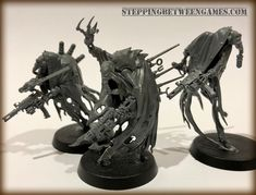 Simple head/arm swaps, maybe fluff it up with some antennas/vials from the DE Wracks? Warhammer 40k Figures, Warhammer Models, Warhammer 40k Miniatures, Warhammer 40000, Chaos Legion, Chaos 40k, Dark Eldar, Necron, Happy Paintings
