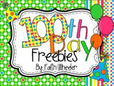 1st Grade Fantabulous: 100th Day of School!!!!!
