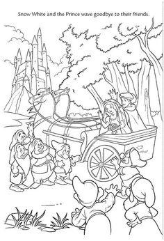 Wedding Wishes snow white disney princess prince charming ferdinand Snow White Coloring Pages, Cool Coloring Pages, Adult Coloring Pages, Coloring Pages For Kids, Coloring Books, Disney Princess Coloring Pages, Disney Princess Colors, Disney Colors, Snow White Disney