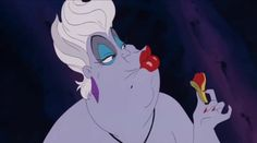 Ursula the sexy witch lol
