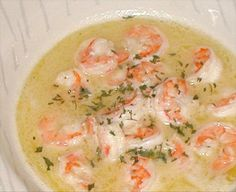 Another Shrimp Scampi - An excellent & easy recipe worthy of a good, crusty bread to sop of every last lick of the luscious, garlicky & lemony white wine sauce.  It's certainly not just another run-of-the-mill shrimp scampi recipe as the title implies.  This one gets four thumbs up from our house!