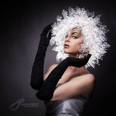 I don't know how I found it, but I ended up on Gavin Prest Photography. Gavin Prest is an award Wig Making, Taking Pictures, Portrait Photography, Fork, In This Moment, Celebrities, People, Model, Image