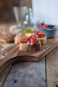 Baguette mit Bruschetta - Quick Baguette with Bruschetta (10)