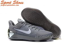 91859158d239 Nike Kobe A.D. Sneakers For Men Low Silver Gray Cheap To Buy XNffFcF