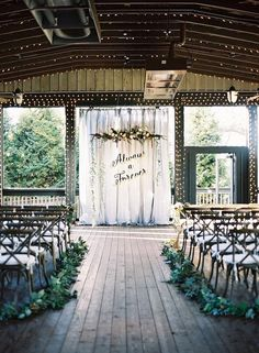 Wedding ceremony idea; Featured photographer: Chris Isham Photography
