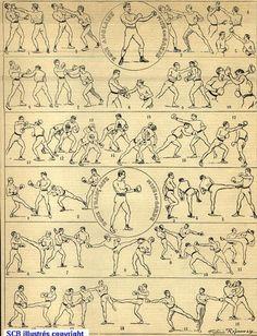 Historique de la savate boxe française et de la canne d'arme
