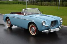This 1956 Volvo Sport P1900 is chassis number 19 of 68 built.