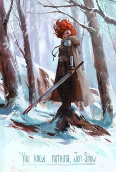 Ygritte by Mingjue Helen Chen