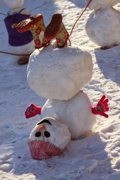 GreatyStuff: Snowman