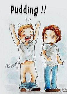 Pudding - Supernatural Fan Art (31782930) - Fanpop                                                                                                                                                                                 Mais