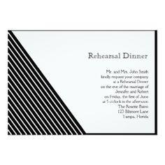 Striped Rehearsal Dinner Invitations, 600+ Striped Rehearsal Dinner Announcements & Invites