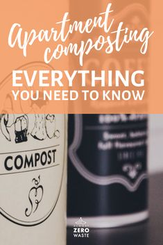 7 apartment composting methods - with or without worms, Bokashi composting, Countertop, Freezer & Blender composting & DIY compost bin! Zero Waste, Reduce Waste, Composting Methods, Worm Composting, Bokashi, Vermicomposting Bin, Waste Reduction, Sustainable Living, Need To Know